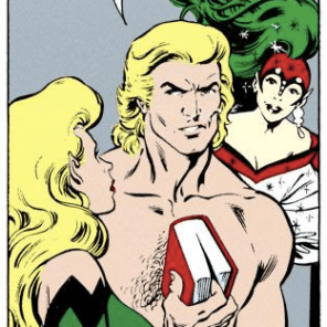 Brian Braddock is a big jerk. (Excalibur #43)