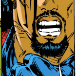 Bishop, I know you come from a difficult timeline, but even you have to appreciate how rad that Walt Simonson Archangel design is. (Uncanny X-Men #283)