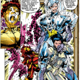 If you had told me a year ago that there was armor worse than Cameron Hodge's ruby quartz armor, I would not have believed you. Mea culpa. (Uncanny X-Men #281)