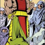 He's gotten... taller. (Excalibur #42)