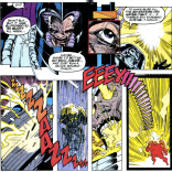 At least Vic Chalker died as he lived: in a large robot suit. (X-Factor #77)