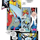 Mystique is exceptionally bad at helping. (Uncanny X-Men #279)
