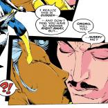 Storm's reaction is appropriate. (Uncanny X-Men #279)