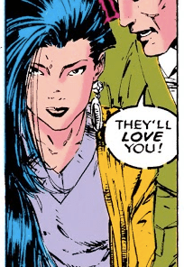 Bobby. Have you MET your parents? (Uncanny X-Men #279)