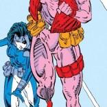 Domino is pretty genre-aware. (X-Force #9)