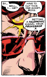 """Look! A distraction!"" (Uncanny X-Men #278)"