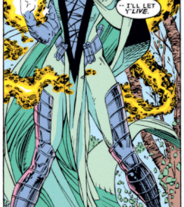 Meet Mrs. Gambit. (X-Men #8)