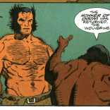 Once more for the back row: THE HONKER OF DOOM! (Wolverine: The Jungle Adventure)