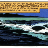 Wolverine rising from bodies of water: never not rad. (Wolverine: Bloody Choices)