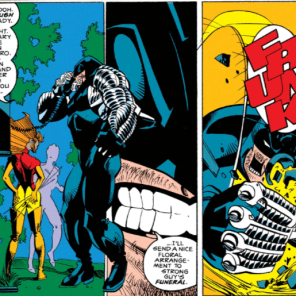 Most people think the ubiquity of cell phones was responsible for the death of the pay phone. Nope: it was this guy. (X-Factor #81)