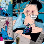 Warren, you've been through a lot, but... you do know that this is the other place you were nailed to a wall in the Morlock tunnels, right? Right? (Uncanny X-Men #292)