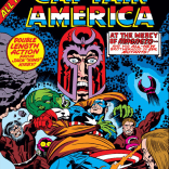 See how much is happening on this cover? Yeah, it's got nothing on what's inside. (Captain America Annual #4)
