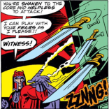 I mean, I like Nuanced And Morally Gray Magneto as much as the next guy, but... I miss this! (Captain America Annual #4)