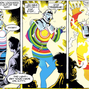 The mystery deepens and gets even cooler-looking. (Excalibur #54)