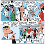 This Sauron's opinions on jorts are never canonically established, but I think we all know. (Excalibur #51)