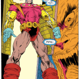 Somewhere, Flash Gordon is very confused and very naked. (X-Force #12)