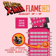 COME SEE US AT FLAMECON! SERIOUSLY! IT'LL BE RAD AS HELL!