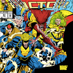 X-Factor does not take particularly well to therapy, to nobody's particular surprise. (X-Factor #87)
