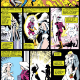 Captain Britain X-Plains the Plot. (Excalibur #56)