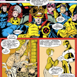 Cyclops X-Plains X-Factor #41-42. (Excalibur #57)