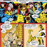 Cyclops X-Plains X-Factor #41-42. (Excalibur #57)
