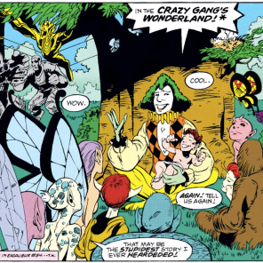 And they all lived happily ever after! (Excalibur #58)