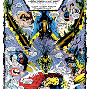 Remember the time the X-Men defeated a guy by being TOO ANGSTY FOR HIM TO DIGEST? Because that absolutely happened. (X-Men #19)