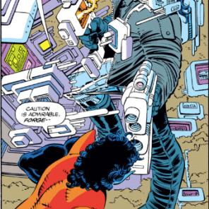 Forge, settle down, buddy. (Uncanny X-Men #300)