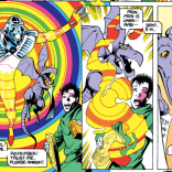 Widget and the amazing technicolor future genocide by giant r--well, that took a bit of a turn. (Excalibur #64)