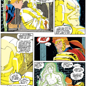 And that's why you always leave a note! Or don't murder Magneto! One of those, probably! (Uncanny X-Men #300)