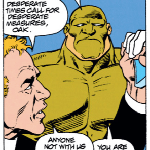 Aw, Oak. You're a good dude. (Excalibur #65)