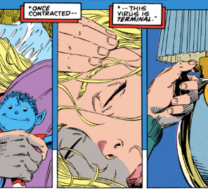 And then nobody was ever happy again. (Uncanny X-Men #300)