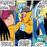 While I get that Warren's intentions are probably good here, breaking into schools and holding the children while they sleep is generally frowned upon by LITERALLY EVERYONE. (Uncanny X-Men #299)