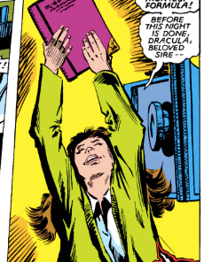 Ah, 13: that tender age when a young girl's heart turns to eldritch summonings. (X-Men Annual #6)