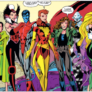 Seriously, I *still* get teary just looking at this spread. You did good, Mr. Davis. (Excalibur #67)