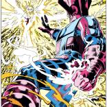 Phoenix vs. Galactus. (Excalibur #61)