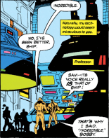 You never forget your favorite ship. (X-Force #20)