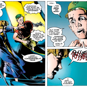 Quite literally face to face. (The Adventures of Cyclops and Phoenix #3)