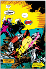 He'll be okay. Kind of. Eventually. (Uncanny X-Men Annual #17)