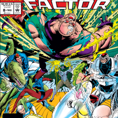 I feel like this cover is generally a good metaphor for the 1993 Marvel annuals. (X-Factor Annual #8)