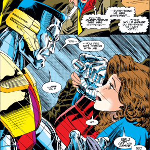 Aw, man, my heart. (Excalibur #71)