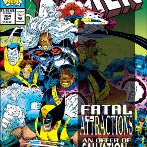 If there's anything I look for in an event anniversary issue, it's an interrupted funeral. (Uncanny X-Men #304)