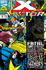 Clearly Marvel Unlimited had more success peeling the hologram off the cover of X-Factor #92 than most readers!