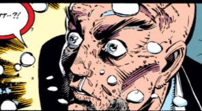 Alan Davis has his hair. Chris Bachalo has his eyeballs. (X-Men Unlimited #1)