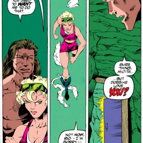 Damnit, Rictor. (X-Force #26)