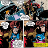Gambit gets a lot more interesting when you realize his flirting is largely performative. (Rogue #2)