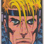 I'm not sure exactly what is happening with Havok's hair in this panel, but it is not okay. (Spider-Man and X-Factor: Shadow Games #1)
