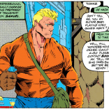 What happened to Sam, and who is this alarmingly beefy stranger? (X-Force #29)