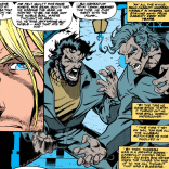 I just really love those yelling pages. (X-Force #31)
