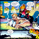 Sabretooth is a terrible boss, but marginally better than the Hand, maybe, I guess. (Sabretooth: Death Hunt #1)